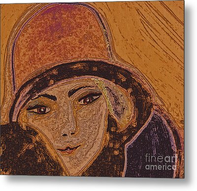 Chapeau By Jrr Metal Print by First Star Art