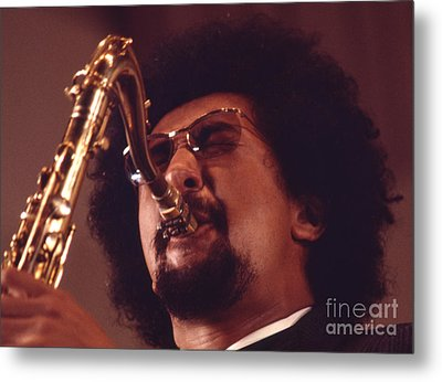Charles Lloyd In The Soviet Union Metal Print by The Phillip Harrington Collection