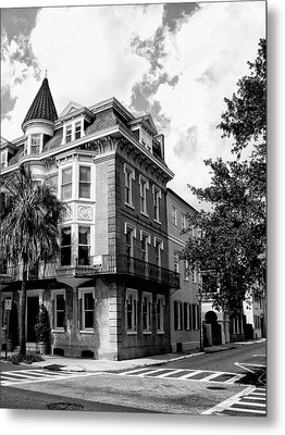 Charleston Corner Charleston Sc Metal Print by William Dey
