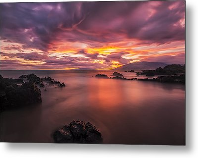Charley Youngs Beach Metal Print by Hawaii  Fine Art Photography