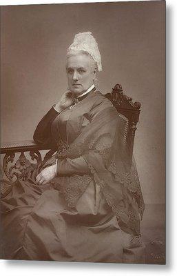 Charlotte Mary Yonge Metal Print by British Library