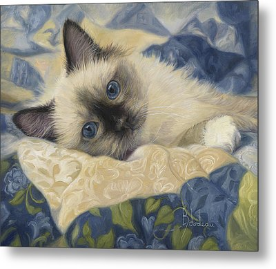 Charming Metal Print by Lucie Bilodeau