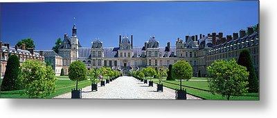 Chateau De Fontainebleau Ile De France Metal Print by Panoramic Images