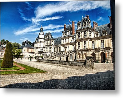 Chateau Fontainebleau - France Metal Print by Jon Berghoff