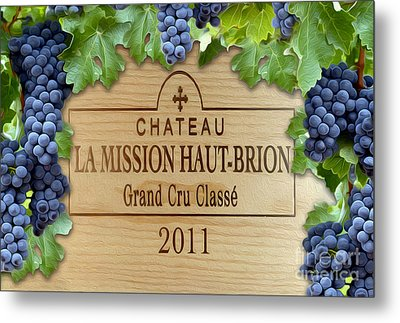 Chateau Haut Brion Metal Print by Jon Neidert