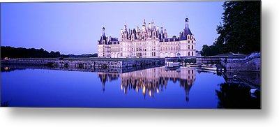 Chateau Royal De Chambord, Loire Metal Print by Panoramic Images