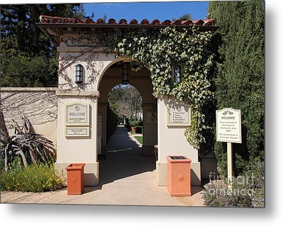 Chateau St. Jean Winery 5d22197 Metal Print by Wingsdomain Art and Photography