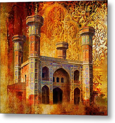 Chauburji Gate Metal Print by Catf