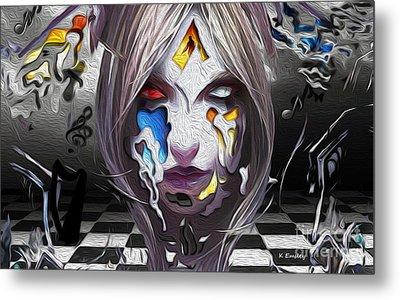 Checkmate-hd Metal Print by Karl Emsley