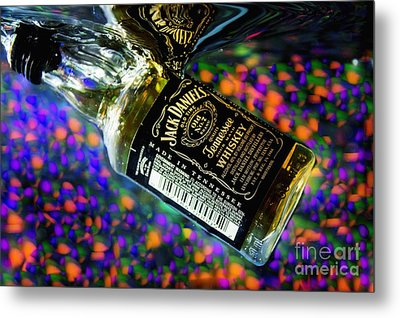 Cheers To Photography Metal Print by Imani  Morales