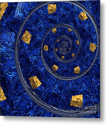 Cheese Sea By Jammer Metal Print by First Star Art