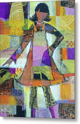 Chef Chic Metal Print by Melody Cleary