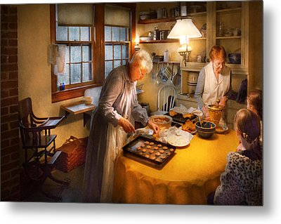 Chef - Kitchen - Coming Home For The Holidays Metal Print by Mike Savad