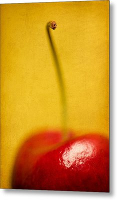 Cherry Bliss Metal Print by Amy Weiss