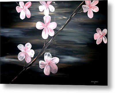 Cherry Blossom  Metal Print by Mark Moore