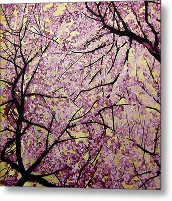 Cherry Blossoms Metal Print by Bobby Zeik