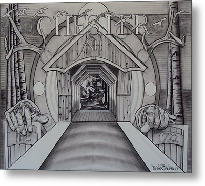 Chester Nh Metal Print by Sean Connolly