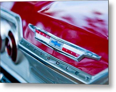 Chevrolet Impala Emblem 3 Metal Print by Jill Reger