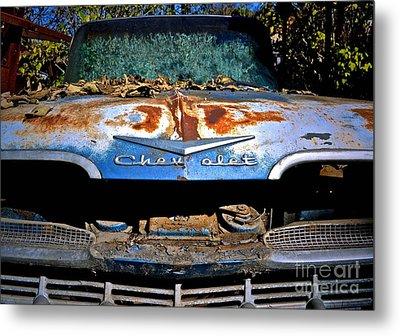 Chevrolet Picking Metal Print by Gwyn Newcombe