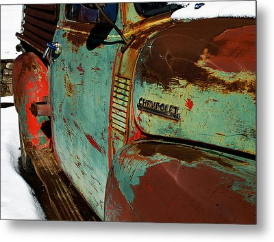 Chevy Metal Print by Gia Marie Houck