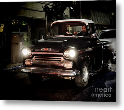 Chevy Pickup Truck Metal Print by Nina Prommer