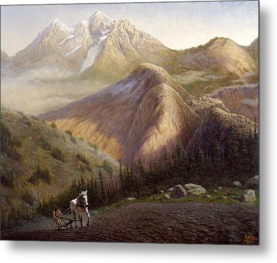 Cheyenne Valley Wyoming Metal Print by Gregory Perillo