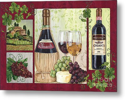 Chianti And Friends 2 Metal Print by Debbie DeWitt