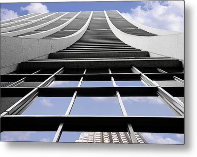 Chicago - Chase Tower Metal Print by Christine Till