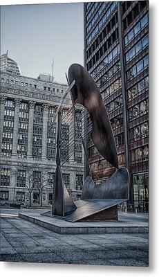 Chicago Picasso Metal Print by Mike Burgquist