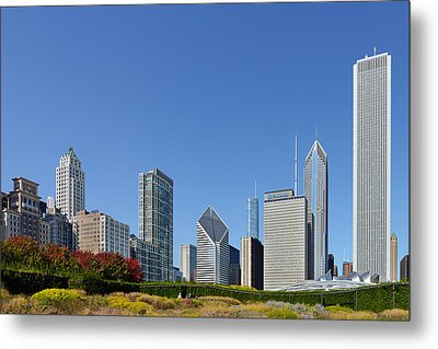 Chicago - What A Beautiful City Metal Print by Christine Till