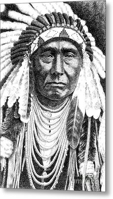 Chief-joseph Metal Print by Gordon Punt