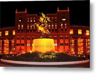 Chief Osceola And Renegade Unconquered Metal Print by Frank Feliciano