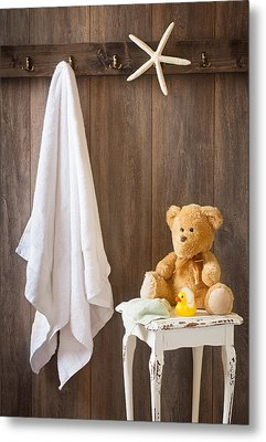 Childrens Bathroom Metal Print by Amanda And Christopher Elwell