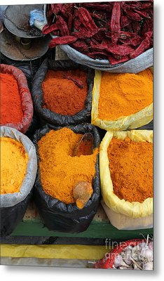 Chilli Powders 3 Metal Print by James Brunker