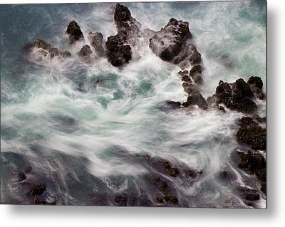 Chimerical Ocean Metal Print by Heidi Smith