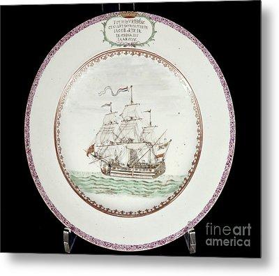 China - Dutch Ship 1756 Metal Print by Granger