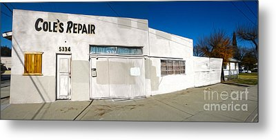 Chino - Coles Repair - 02 Metal Print by Gregory Dyer