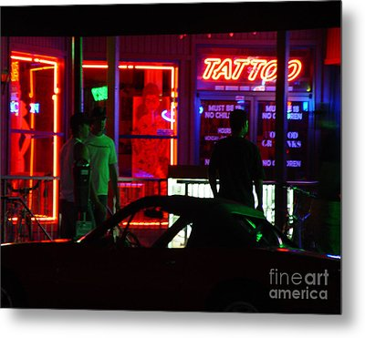 Choices After Midnight Metal Print by Peter Piatt