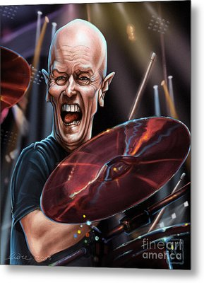 Chris Slade Metal Print by Andre Koekemoer