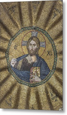 Christ Pantocrator Surrounded By The Prophets Of The Old Testament 2 Metal Print by Ayhan Altun