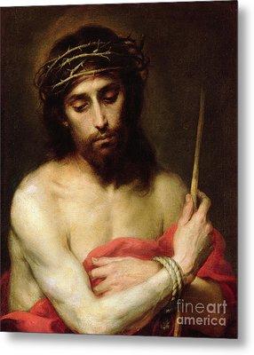 Christ The Man Of Sorrows Metal Print by Bartolome Esteban Murillo