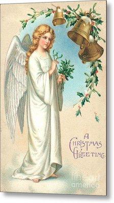 Christmas Angel Metal Print by English School