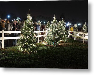 Christmas At The Ellipse - Washington Dc - 01133 Metal Print by DC Photographer