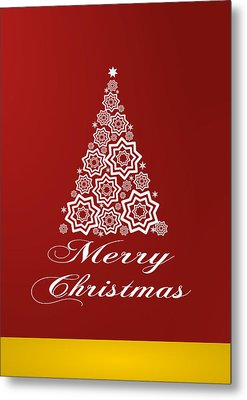 Christmas Card 10 Metal Print by Martin Capek