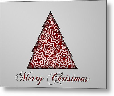 Christmas Card 16 Metal Print by Martin Capek