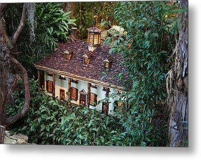 Christmas Display - Us Botanic Garden - 011342 Metal Print by DC Photographer