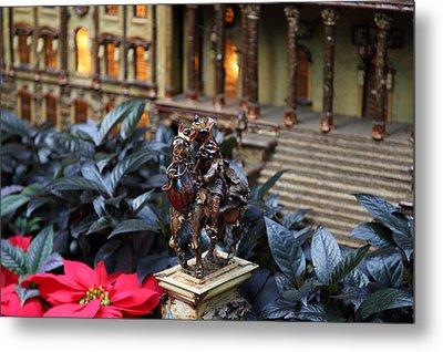 Christmas Display - Us Botanic Garden - 011349 Metal Print by DC Photographer