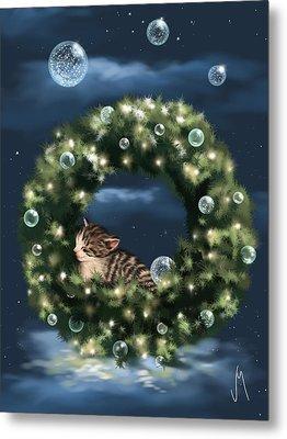Christmas Dream Metal Print by Veronica Minozzi