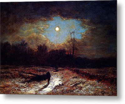 Christmas Eve Metal Print by Celestial Images