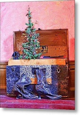 Christmas In A Trunk Metal Print by Nikolyn McDonald